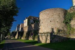 Roman walls autun