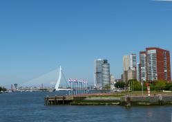 Rotterdam le pont erasmus
