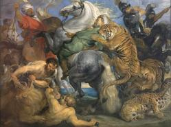 Rubens la chasse au tigre