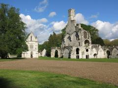 Ruines abbaye de chaalis