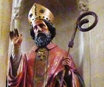Saint corentin buste