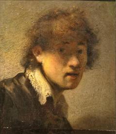Self portrait rembrandt 1629