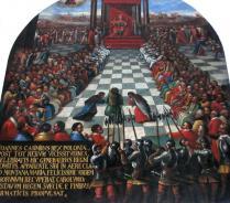 Session du sénat polonais en1661 à Jasna Gora