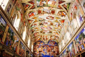 Vatican chappelle sixtine 1