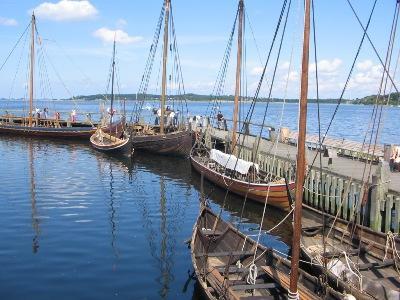 Viking ship museum roskilde denmark