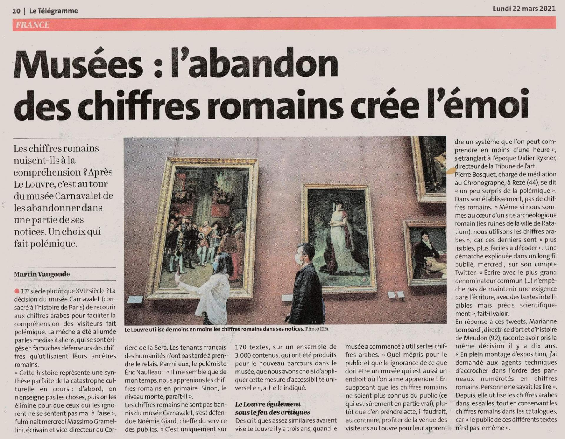Chiffres romains